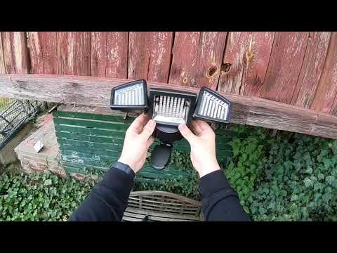 solar-lights-outdoor-super-bright-182-led-motion-sensor-solar-lights-unboxing-and-instructions