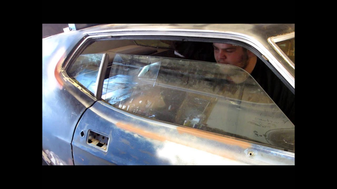 73 mach 1 mustang quarter window youtube for 1966 mustang quarter window installation