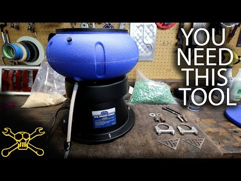 You Need This Tool - Episode 79 | Eastwood Vibratory Media Tumbler