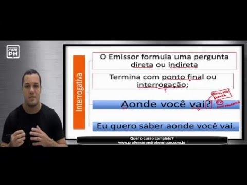PORTUGUÊS - CURSO COMPLETO DE SINTAXE - FRASE/ORAÇÃO/PERÍODO - PROFESSOR PEDRO HENRIQUE