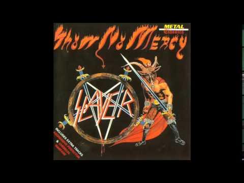 Slayer  The Antichrist Show No Mercy Album Subtitulos Español