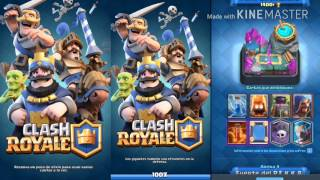 UPLOAD OF SAND AND OPEN MANY CHESTS - CLASH ROYALE