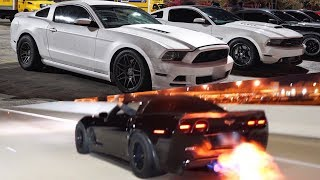 Turbo Mustang DOMINATES on the STREET! + 899hp ZR1 STREET RACES 850hp Hellcat, Nitrous Z06 & MORE!