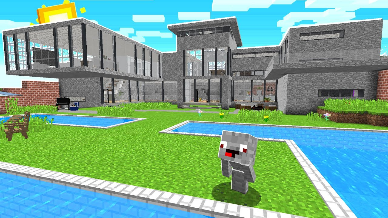 Download ALPHASTEIN NEUES HAUS in Minecraft !
