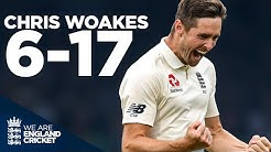 Chris Woakes Cleans up Ireland at Lords England v Ireland Rewind England Cricket