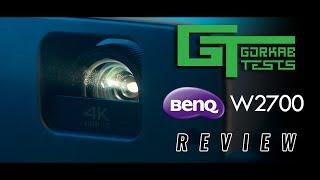 Gorkab Tests - BenQ W2700 4K HDR Projector
