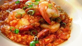 Jambalaya From Scratch - Healthy Professional Restaurant Recipe (louisiana/new Orleans)