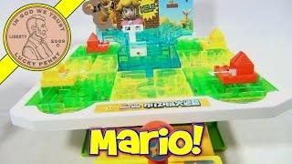 Super Mario Bros Japanese Crystal Maze Board Game, Epoch Toys