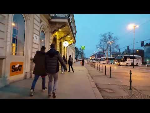 (005) WalkCam. Walking around Ljubljana (14.1.2018) (SLO)