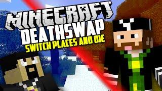 DIE FOR ME! Minecraft: Deathswap Challenge w/ AntVenom!