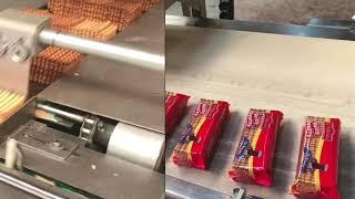 Bisküvi paketleme makinesi