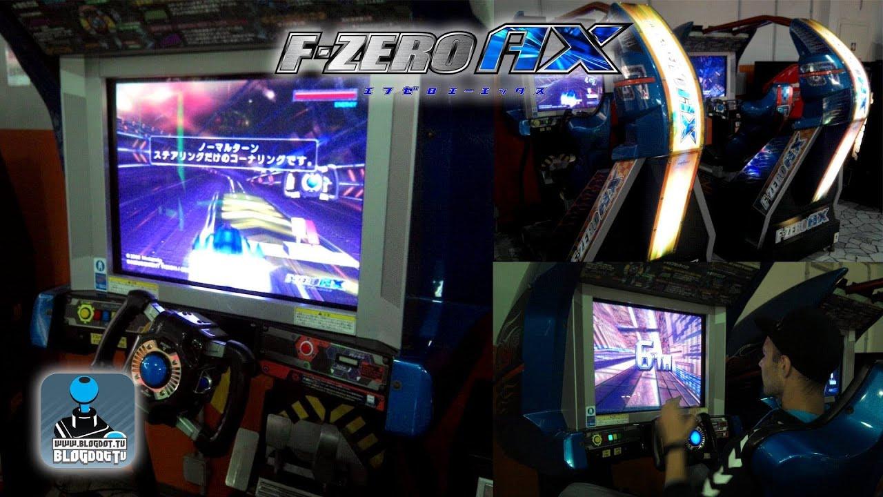f zero ax arcade review gameplay blgodot tv recorded in italy youtube