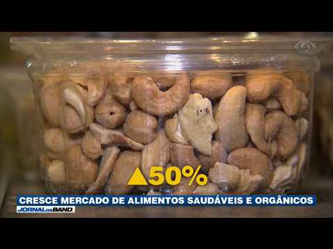 Cresce Mercado De Alimentos Saudáveis E Orgânicos