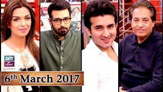 salam zindagi   guest sehrish khanshehroz sabzwari syed noor   6th march 2017