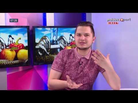 Dimineața Sportivă de la Moldova Sport TV // 19.05.2016, Partea 1