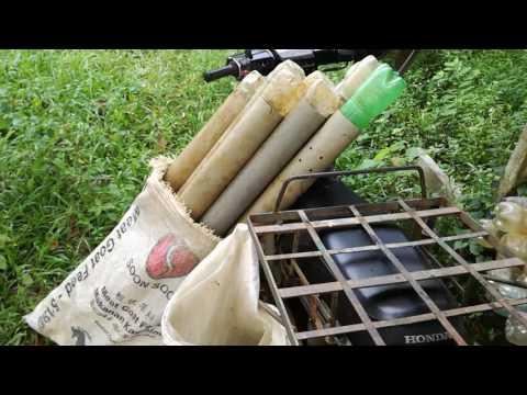ells trape(belut kulim).using pvc pipe