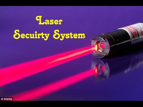 Laser security system with ( circuit diagram ) & (DIY)