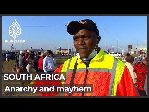 Cyril Ramaphosa says South Africa unrest was 'instigated' - Al Jazeera English