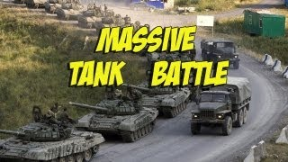 Wargame Airland Battle - Massive tank fight