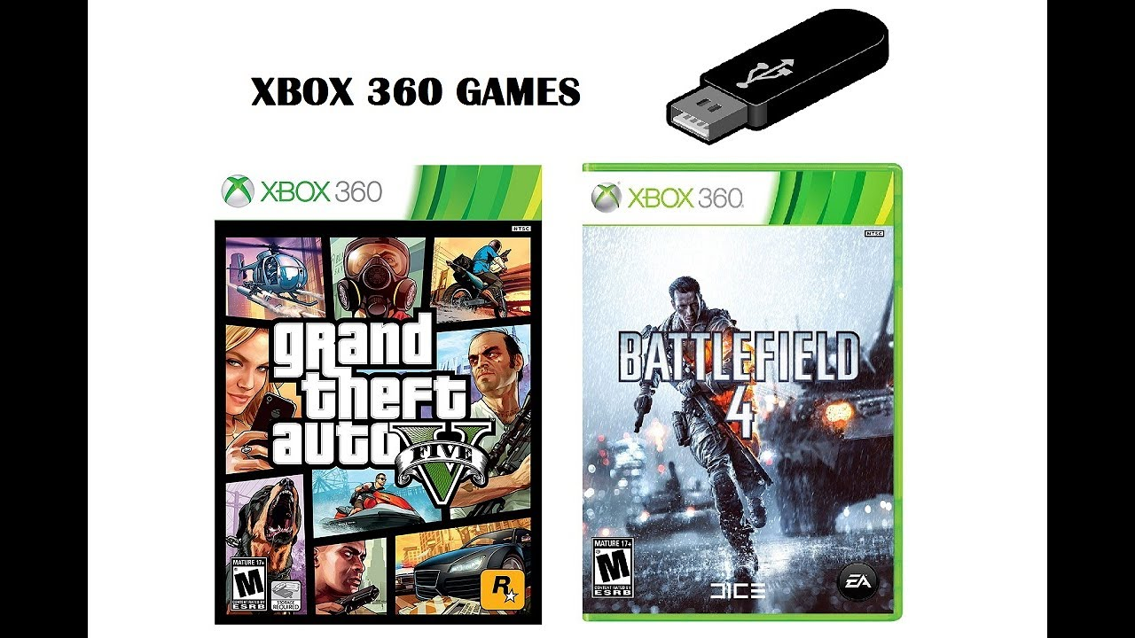 How to Play Games on Your Xbox 360 using your usb (flash ...