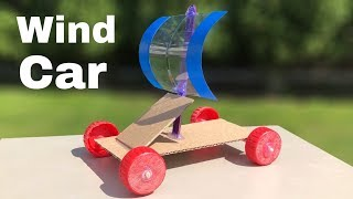 How to Make a Car - Wind Car - Very Simple Toy