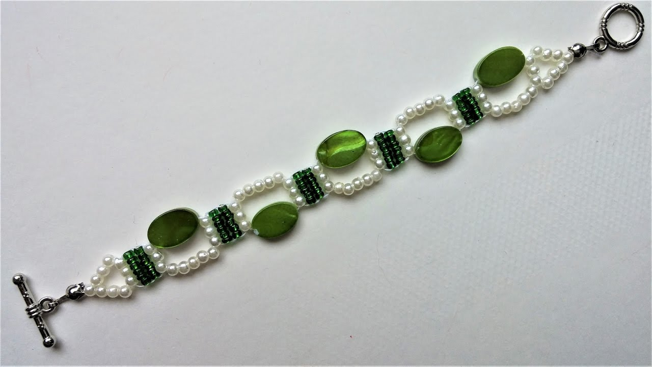 How To Make A Beaded Bracelet Easy Pattern For Beginners