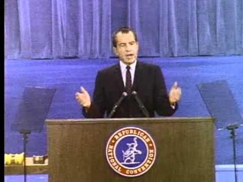 Nixon's 1968 RNC Acceptance Speech