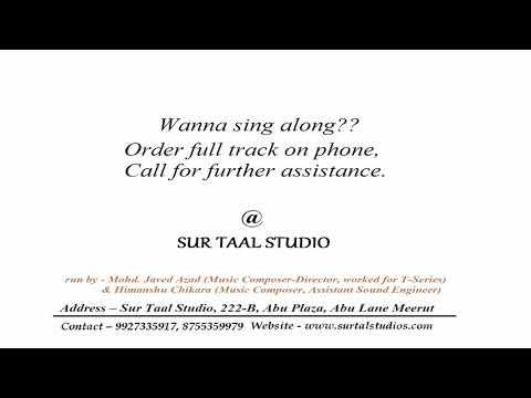KARAOKE  | SOLID BODY - SAPNA CHAUDHARY | SUR TAAL STUDIO MEERUT