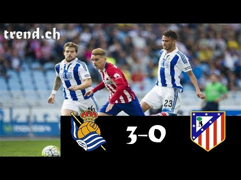 Real Sociedad vs Atl. Madrid 3-0 Highlights & Goals
