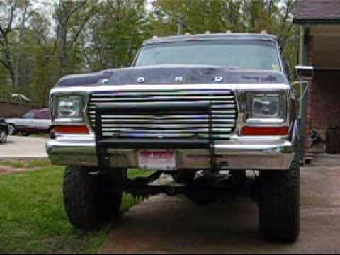 1979 Ford F250 4X4 460 - YouTube