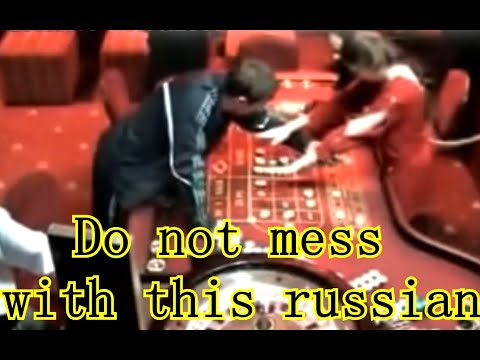 MUST SEE ! FREAKOUT - Russian Goes CRAZY In Casino Roulette LIVE