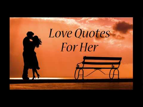 One sentence love quotes for her
