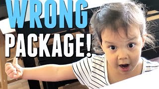 DELIVERY GUY SENT THE WRONG PACKAGE! - June 01, 2017 -  ItsJudysLife Vlogs