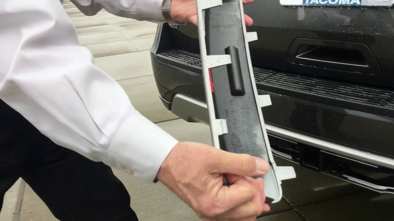 ford expedition  trailer hitch cover removal youtube