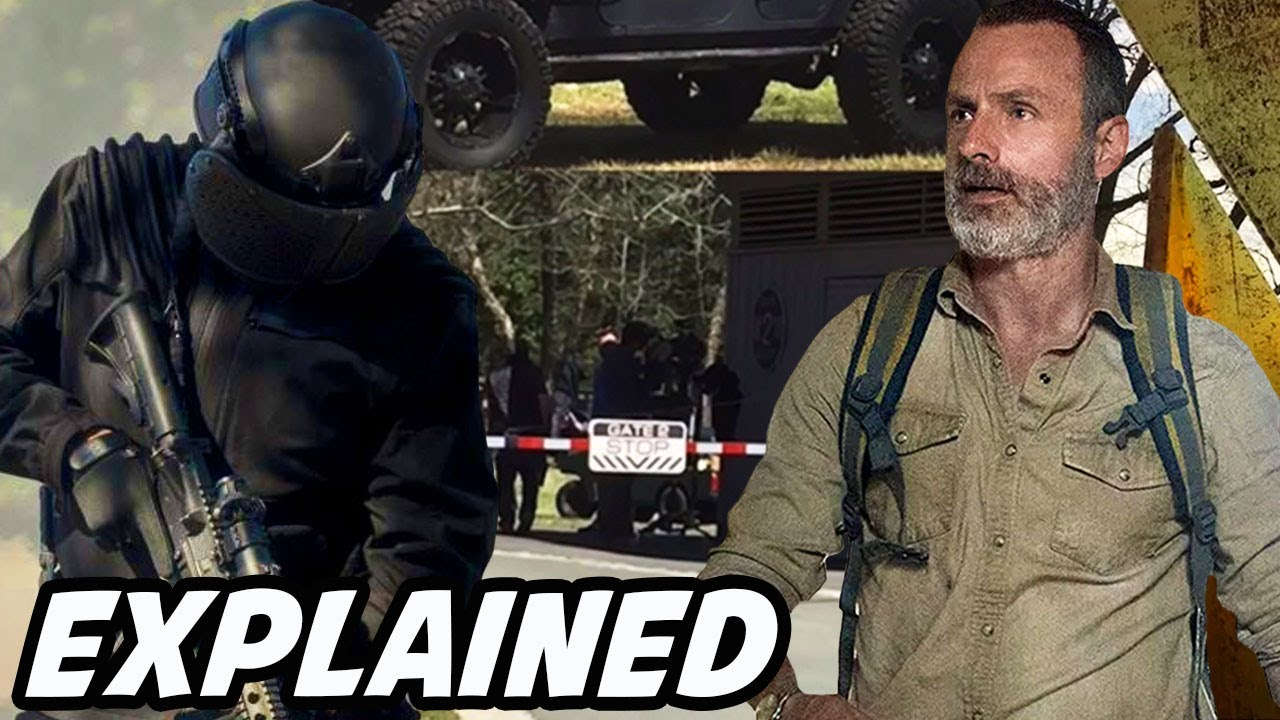 'Rick Grimes Confirmed Locations, CRM WORLD Order, MORE Helicopter Sightings' The Walking Dead Rick