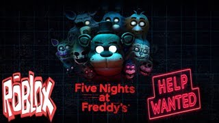 Roblox Fnaf Help Wanted part 1