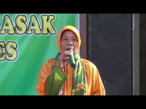 Ceramah Nyai Hj. Sa'diyah // Muslimat Fatayat // Live  Krasak Brebes