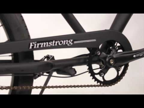 "Firmstrong CA-520 Alloy 3 Speed Matte Black - Men's 26"" Cruiser Bike"