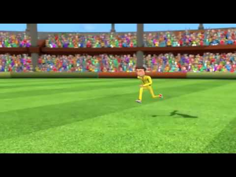 Funny Video Of Cartoon Cricket