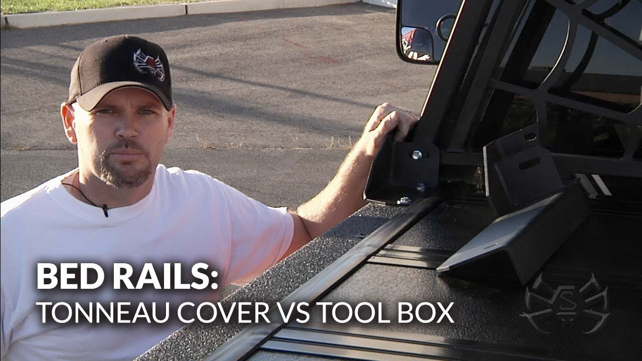 Spyder Industries Tonneau Cover Vs Tool Box Bed Rails
