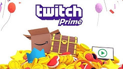 Twitch Prime - Gratis Twitch-Abo, Skins, Loot, Games & mehr - Amazon Prime + kostenlos Twitch Prime