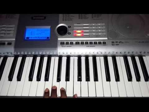 TIN Theme Rain Dance Trisha Illana Nayanthara Keyboard Notes