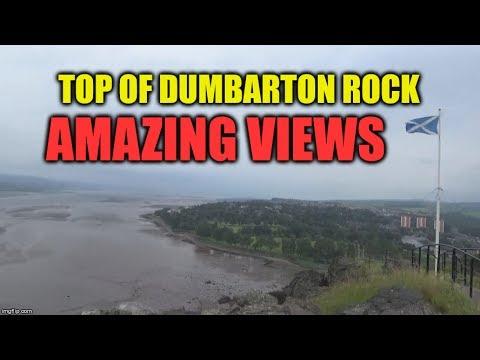🏛 TOP OF DUMBARTON ROCK / CASTLE  🏛