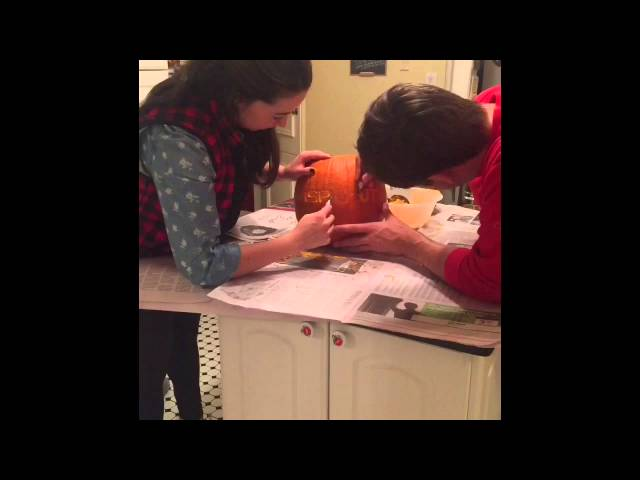 Sprout Watches: Time Lapse Pumpkin Carving