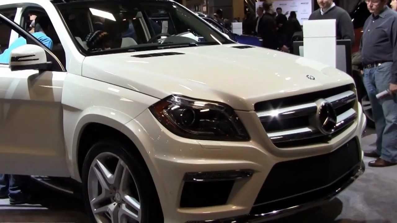 2014 Mercedes Suv >> 2014 MERCEDES GL550 4MATIC SUV IN 2013 WASHINGTON DC AUTO SHOW 2013 - YouTube