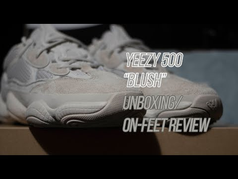 4a9fa1ddcf5d4 Yeezy 500  quot Blush quot   Sneaker Unboxing and Review  ...