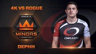 Dephh 4k vs Rogue - Highlight (Americas Minor 2018)