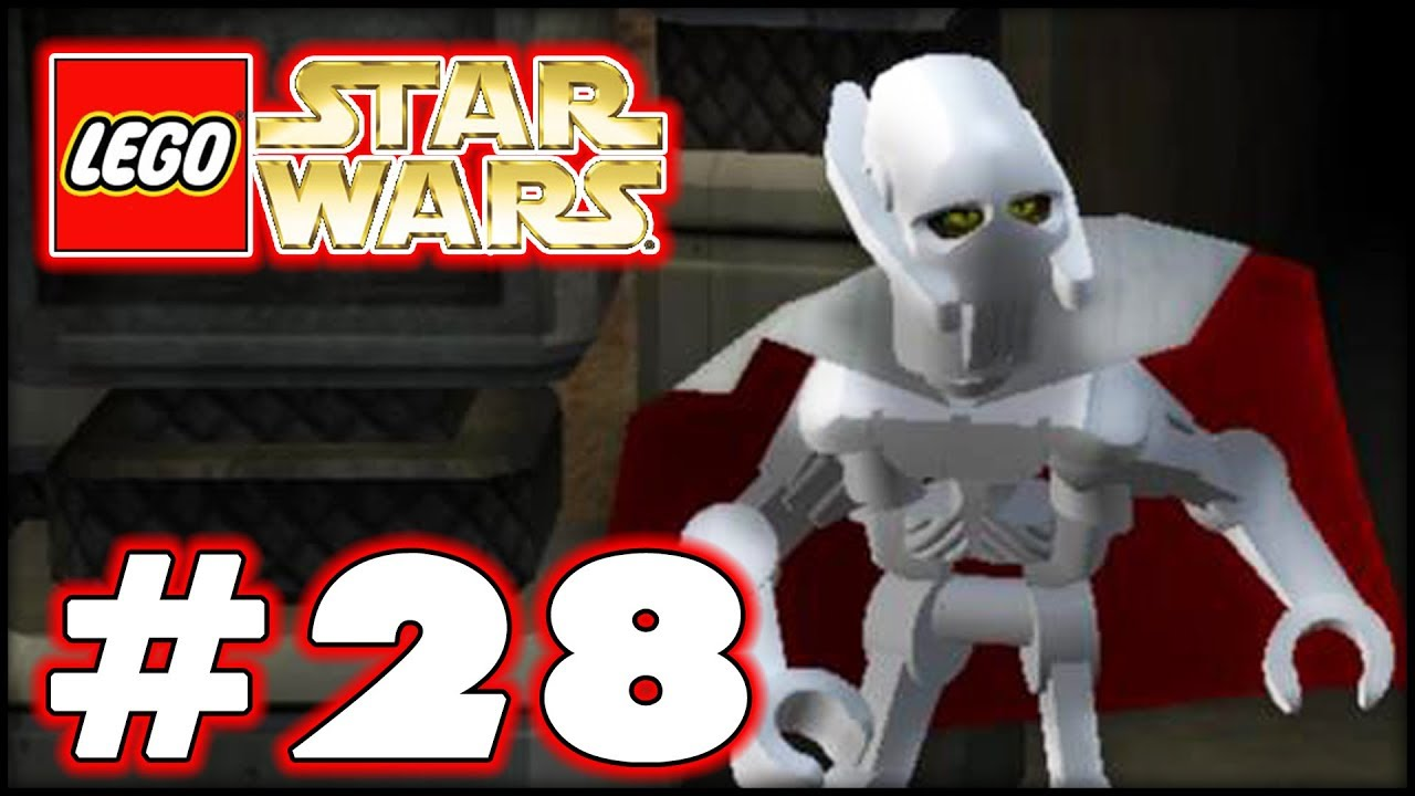 Lego Star Wars The Complete Saga Part 28 Grievous Vs Vader 100
