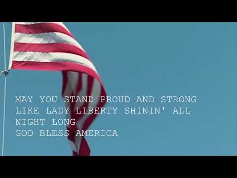 Lana Del Rey - God Bless America - And All The Beautiful Women In It (Lyrics)