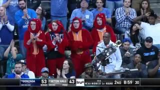 Seton Hall vs. Gonzaga: Michael Nzei and-one